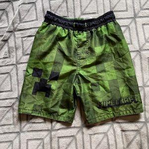 Boys Minecraft swim shorts